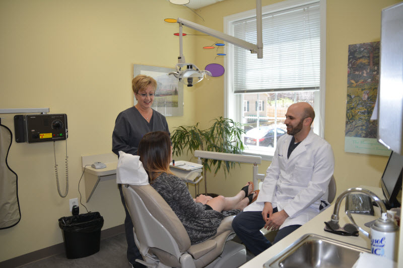 In Office Shade Matching | Downingtown Family Dentistry