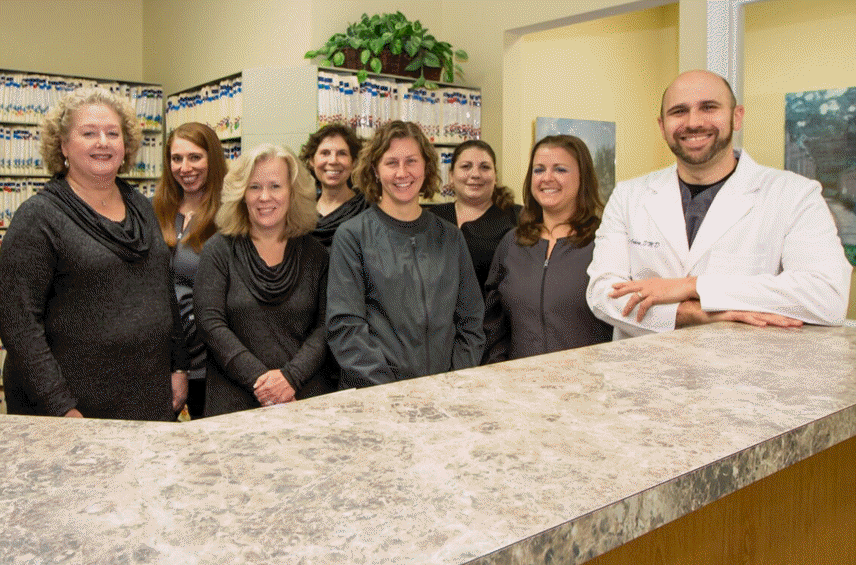 downingtown dentistry team